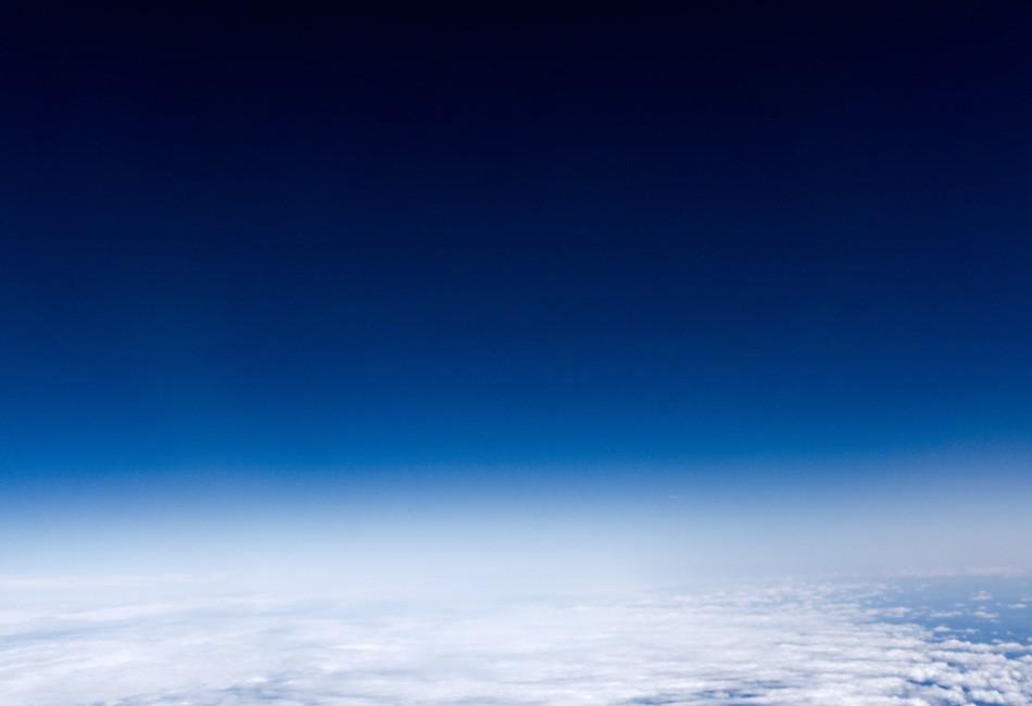 Riproduzione della visuale dai finestrini dell'Overture supersonico Credits: Boom