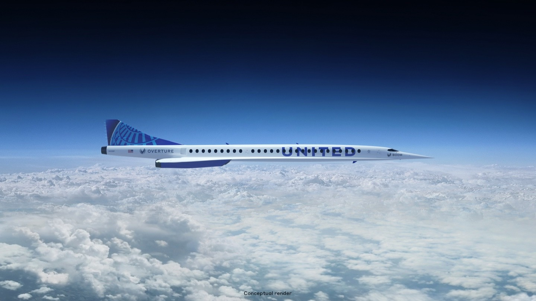Concept Overture supersonico per United Credits: Boom Tecnology